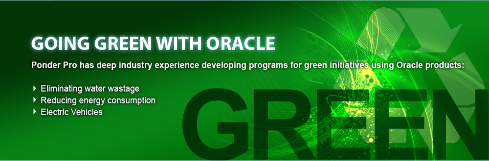 Going Green with Oracle